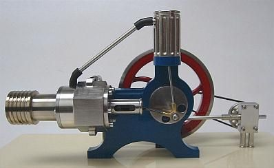 Stirling engine and vintage on pinterest for Stirling engine plans design blueprints