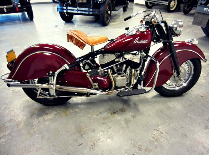 This is a fully restored 1948 Indian Chief Bonneville Motorcycle! Find classic cars and motorcycles on GovLiquidation!