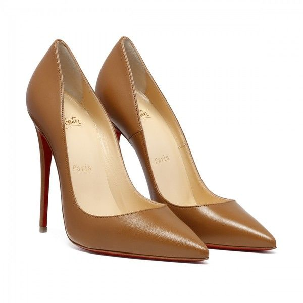 So Kate Camel Pumps (40.715 RUB) ❤ liked on Polyvore featuring shoes, pumps, chaussure, heels, camel pumps and camel shoes