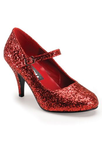 Sexy Ruby Shoes #Red #Halloween #Sparkle #HighHeels