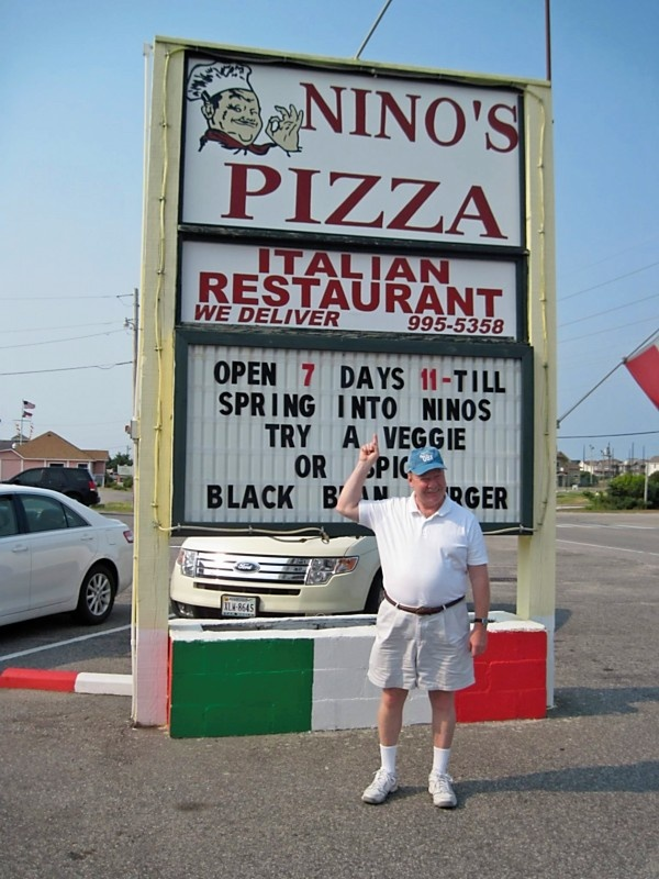 Nino's Pizza.. heard its the best ever!! can't wait!