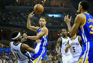 Blog Esportivo do Suíço: Stephen Curry marca até da quadra de defesa e leva Warriors à final do Oeste
