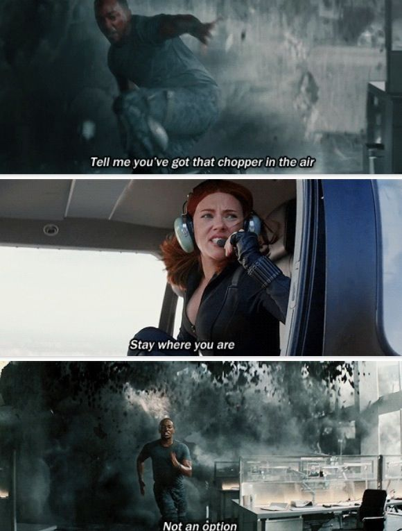 Hahaha loved this!!! :D  Captain America:The Winter Soldier