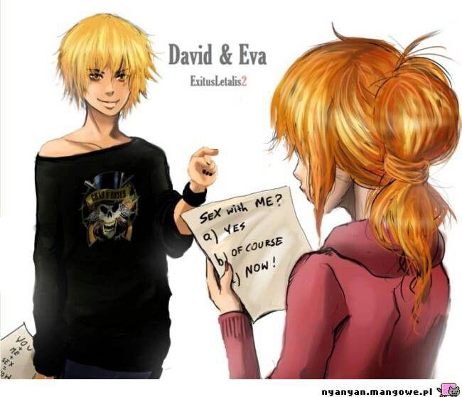 Eva & David i just love them as a couple