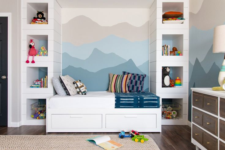 Hemnes daybed nursery kids transitional with modern nursery twin bed built ins in bedroom twin bed