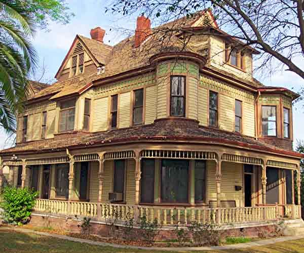This 5-bedroom, 4-bath 1891 Queen Anne is FREE to a motivated buyer willing to move and restore it to the showpiece it once was. A need for new systems, roof and wall repairs are countered by elaborate millwork, wainscoting and Lincrusta paneling.  More photos and contact info here.   Photo: Nathan Freeman   thisoldhouse.com