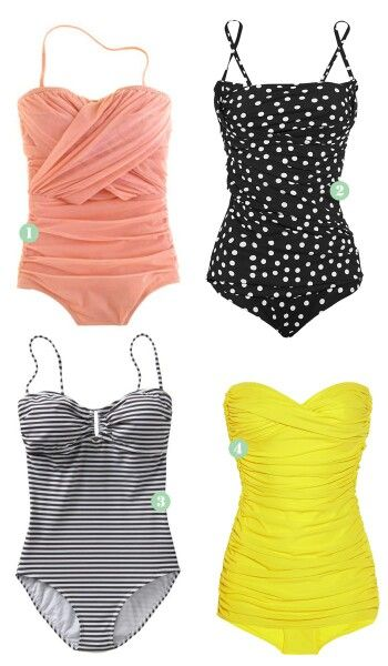 I want a huge collection of adorable one-piece suits, without spending a ton lol