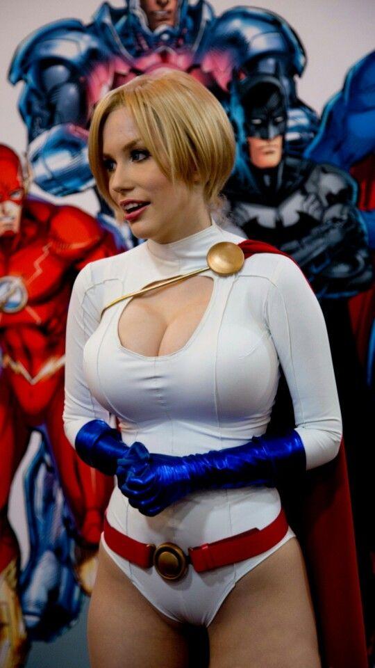 Character: Power Girl (Kara Zor-L, aka Karen Starr) / From: DC Comics 'Power Girl' & 'Justice Society of America' / Cosplayer: Crystal Graziano (aka Precious Cosplay) (2013)