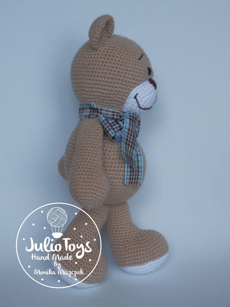 Mejores 7 imágenes de crochet teddy bear en Pinterest | Osos de ...