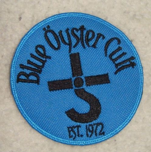Blue Oyster Cult Logo Embroidered Patch | eBay