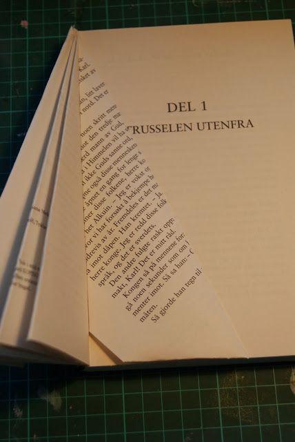 Hobbyvimsa: DIY Lag et juletre av en gammel bok,gjenbruk...