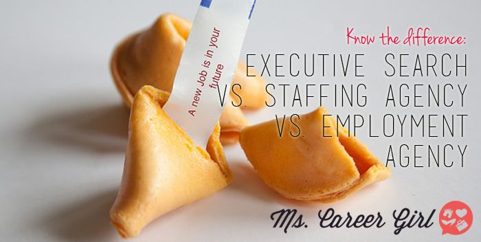 In today's employment climate, both employers and applicants are seeking the help of staffing agencies like Kelly Services over the usual methods. To many, terms like executive search firm, staffing agency, employment agency and headhunter are synonymous, and one agency is considered much like the other. In truth, although the different types of agencies have similar functions, there are still several differences between them.  What Does An Executive Search Firm Do? Also called headhunters…
