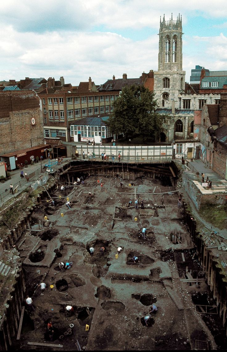 Where it all began - The Coppergate Dig lasted from 1976 to 1981 and uncovered thousands of Viking artefacts