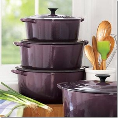 LOVE the new Le Creuset color, Cassis