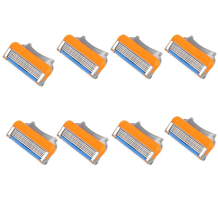 8PCS Man Shaving Razor Refills Cartridge Blade 5 Layer Oranger Free Shipping Wholesale Drop Shipping J12   Read more at The Bargain Paradise : https://www.nboempire.com/products/8pcs-man-shaving-razor-refills-cartridge-blade-5-layer-oranger-free-shipping-wholesale-drop-shipping-j12/   8x Man Shaving Razor Refills Cartridge Blade 5 layer  Feature:    100% brand new and high quality.     Quantity:1     Flexible Comfort Guard     Soft skin protection fins     5-Blade System