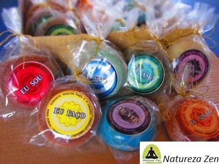 * Sabonetes Naturais para os Chakras - Com Argila e Cristal - Contate  naturezazen@onda.com.br