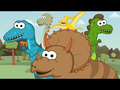 Los Dinosaurios - Toobys - Canciones Infantiles - Videos para niños - YouTube