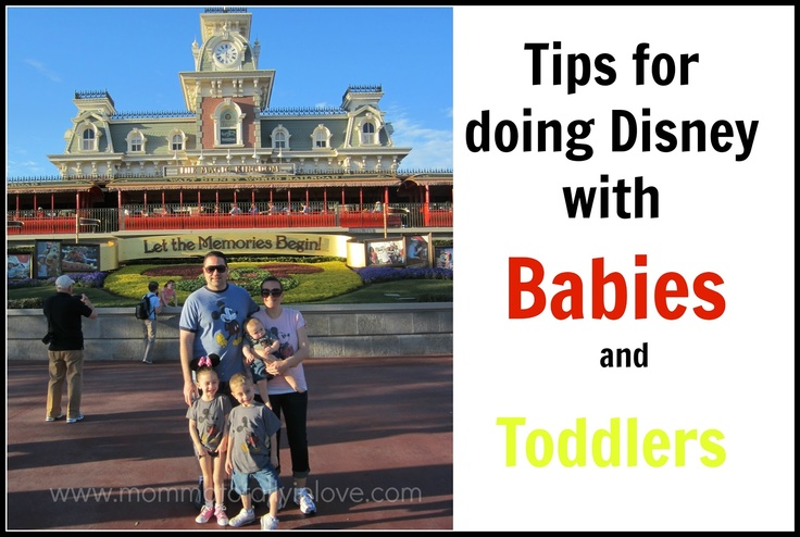 Tips for Disney World with a baby and toddlers