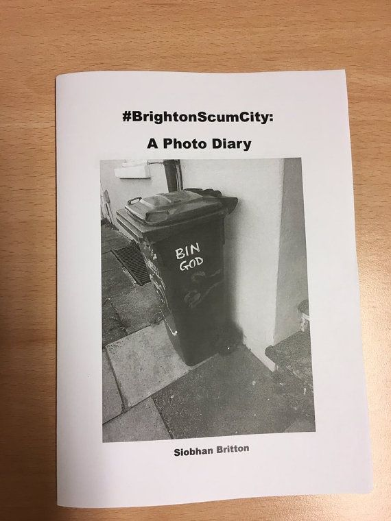 Brighton Scum City: A Photo Diary Zine by sluginkpress on Etsy