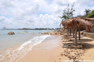 Brasil Praia: Praia do Paraíso, Cabo de Santo Agostinho, PE