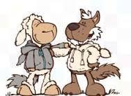 Nici friends - Wolf und Schaf