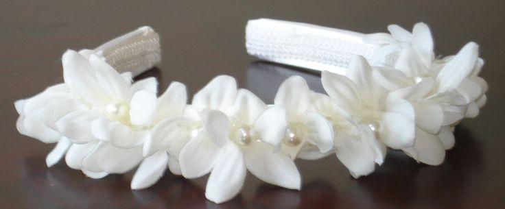 Bridal Hair Wedding Hair Flower Girl Headband by lovelygifts