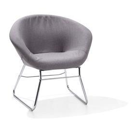 Lightweight Casual Chair - Grey   Kmart