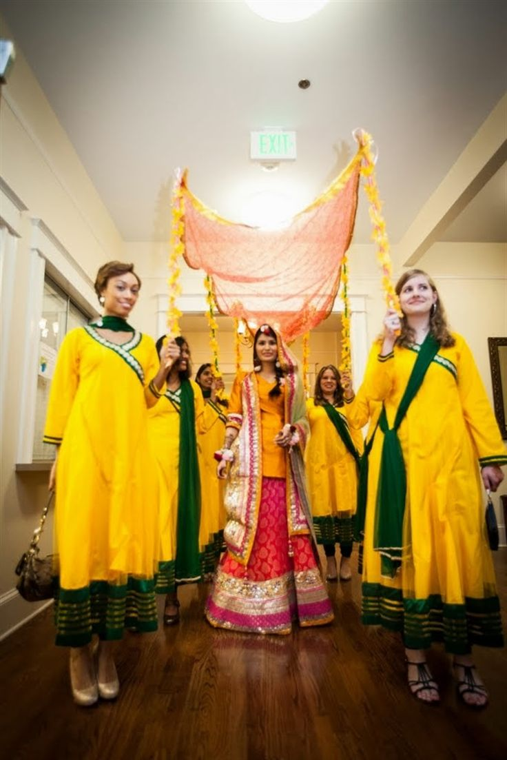 Mayoon Muslim Wedding 19 - TheBigFatIndianWedding.com