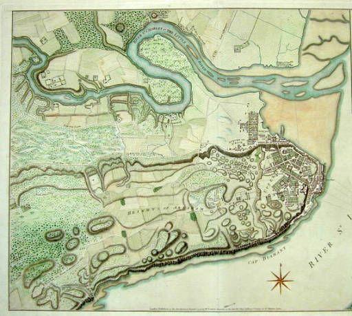 Québec City, history map Citadelle