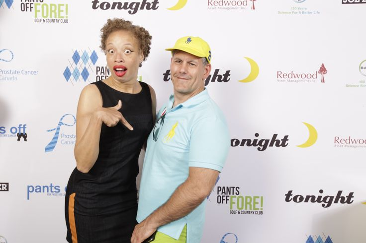 Stacey McKenzie at Pants Off for Prostate Cancer. Photo Credit- HollyThomas