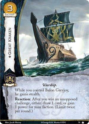 Game of Thrones Second Edition LCG Spoilers   Four the Watch   BoardGameGeek
