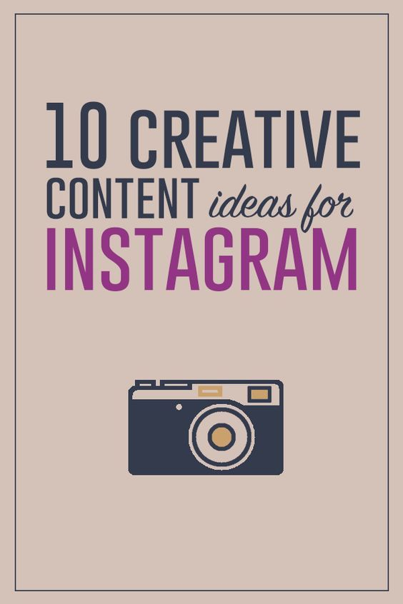 What should you post on Instagram | 10 Ideas for Creating Original Content for…