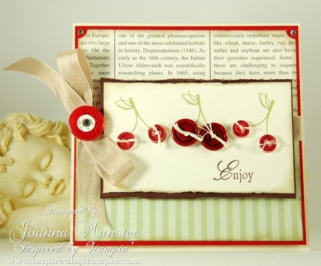INSPIRED BY STAMPIN': Stamping, Miscellaneous, Cards Galore, Styles, Buttons, Case
