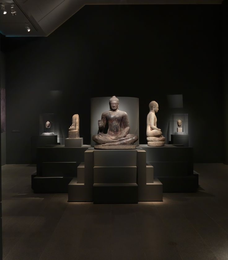 """""""Lost Kingdoms: Hindu-Buddhist Sculpture of Early Southeast Asia, 5th to 8th Century"""" gallery view #LostKingdoms"""