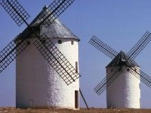 Como giram os moinhos de vento?