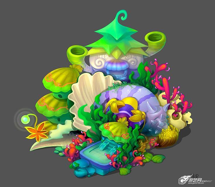 发几张Q版原画 - 【游戏原画】 - 游艺网 GAME798 -游戏美术、游戏培训、游戏艺术工厂、游戏开发交流论坛! - Powered by Discuz!