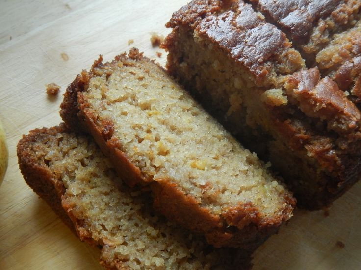 Pear Vanilla Bread-- want to try with the pears I have!