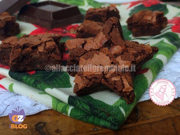 brownies di Natale facili con latte condensato, perchè anche Babbo Natale e le sue renne vanno viziati!
