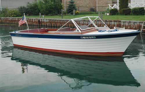 22' Chris Craft Sea Skiff
