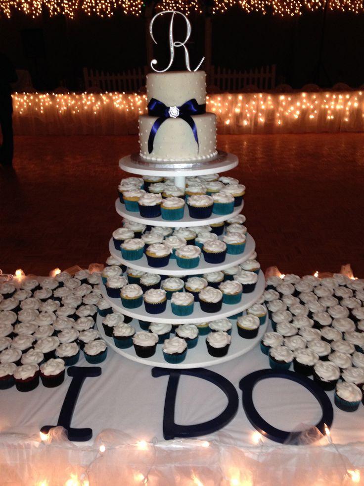Wedding Cake Cupcake tower -