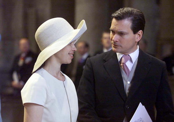 Lady Sarah Chatto and husband Daniel