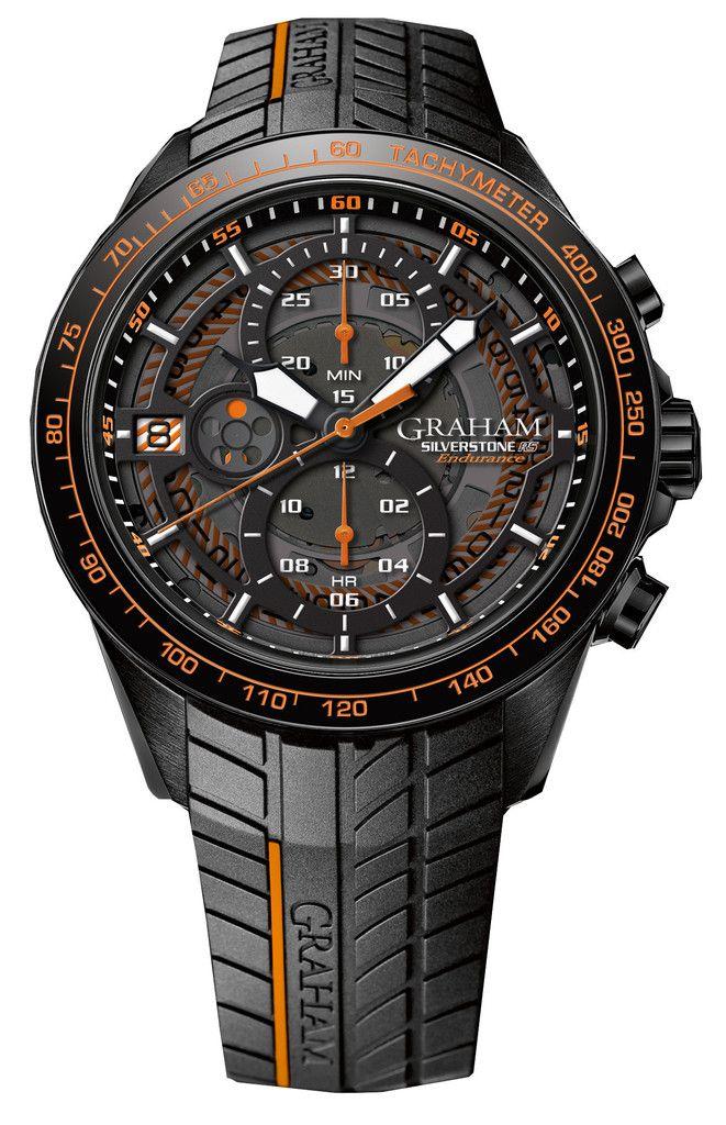 Graham Watch Silverstone RS Endurance Orange #2stcb-b04a-k98h #bezel-fixed…