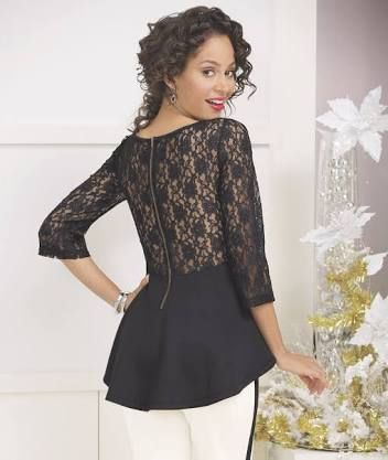 do peplum tops hide belly - Google Search