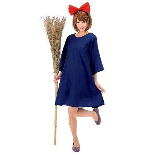 ジブリ映画『魔女の宅急便』のキキのコスチューム衣装。レ...