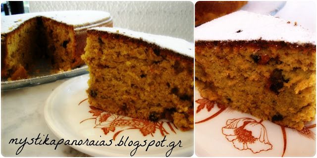 Greek traditional cake, without eggs, butter, milk.. Totally healthy!!