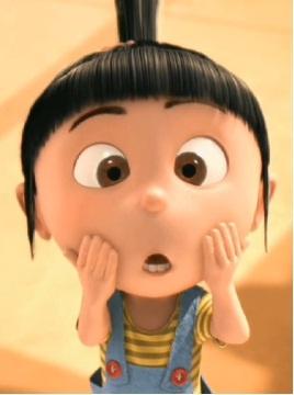 Agnes - Despicable me / Meu malvado Favorito