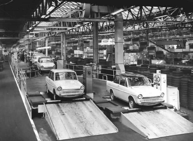 Daf automobile factory daf 33 1960's