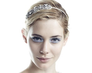 Jennifer Behr headband - indulgence but so pretty