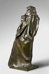 Rodin - Balzac. I always was fascinated by this one. It looks like how Balzac's name sounds.