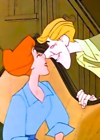 Anita & Roger - 101 Dalmatians: Disney Magic, Dalmatians Eskimo, Disney Non Disney, Disney 3, Disney 101, Eskimo Kiss, Disney Moments 3, Disney Pixar, 101 Dalmatians